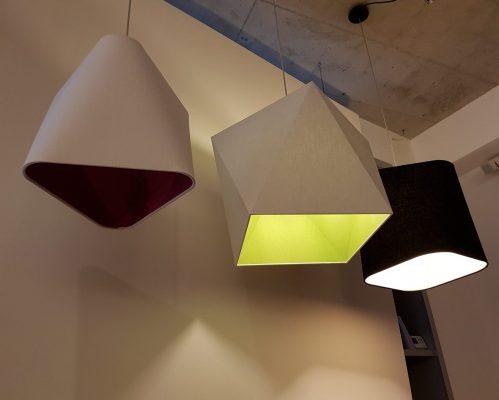 Szögletes lámpák