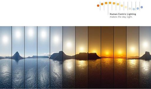 Emberközpontú világítás és a cirkadián ritmus